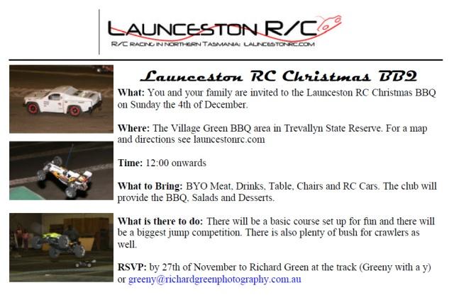 Christmas BBQ 2011 Invitation