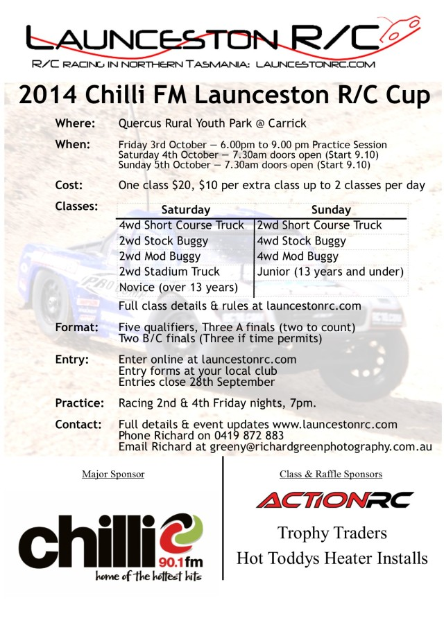 launceston cup 2014 poster